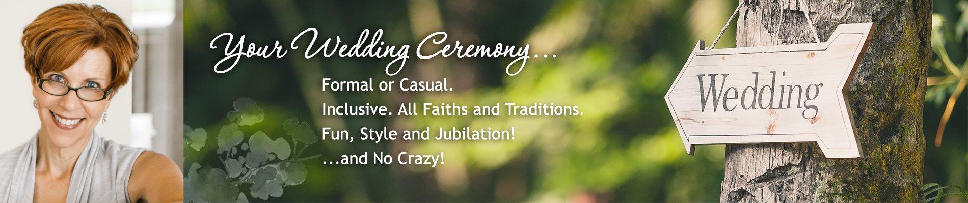 Olympia Tacoma Wedding Officiant - Annemarie Juhlian